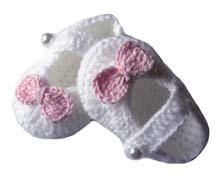 buciki handmade szydełkowe