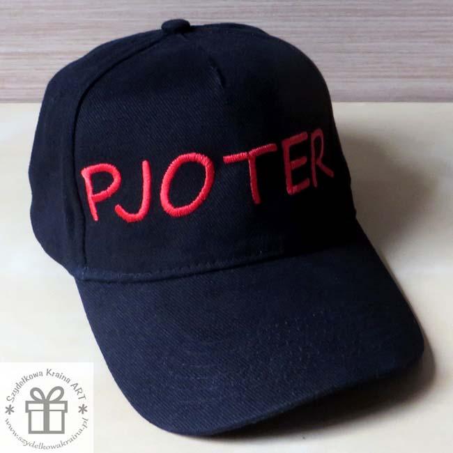 czapka czapki z haftem daszkiem haftowane napisem imieniem ksywką tekstem prezent prezenty
