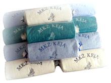 ręczniki z logo reklamowe hotelowe z haftem napisem prezenty nagrody dla pracowników stałych klientów