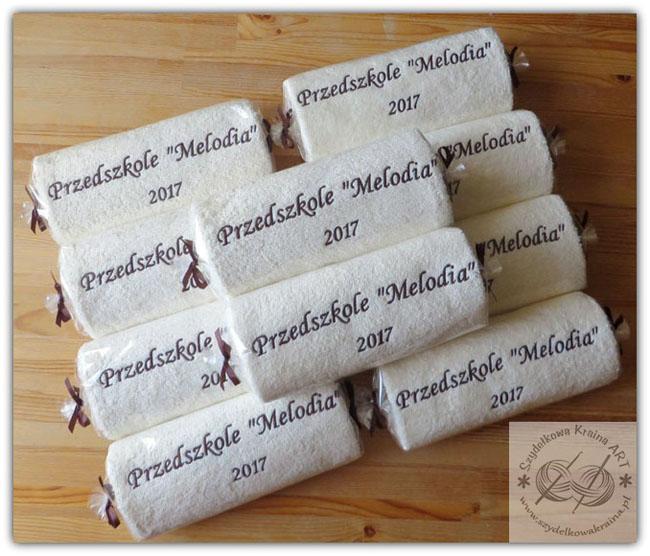 ręczniki haftowane ręcznik z haftem dedykacją napisem logo na zamówienie