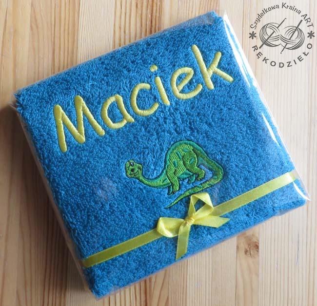 ręcznik do żłobka przedszkola prezent opakowanie na prezent
