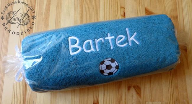 Prezent na Wielkanoc, Zajączka - ręcznik dla dziecka z imieniem, napisem, haftem