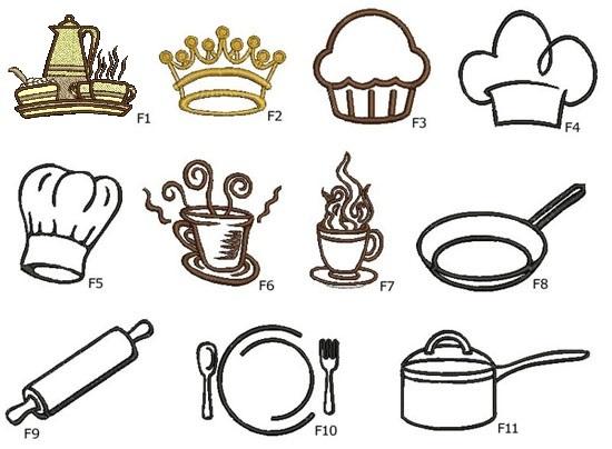 grafiki kuchenne do wyboru - szydelkowakraina