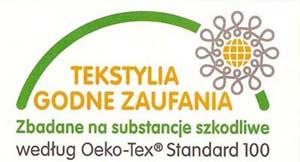 ręcznik dziecięcy z haftem certyfikat oeko-tex standard