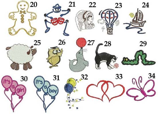 ręcznik do żłobka przedszkola na narodziny babyshower prezent z imieniem haftem kolory grafiki różne do haftu