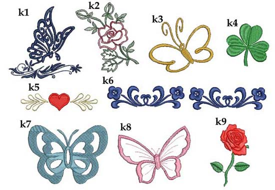 grafiki do haftu na różne okazje ręczniki z haftem
