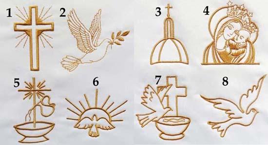 grafiki na chrzest chrztu do wyboru haft komputerowy szydelkowakraina