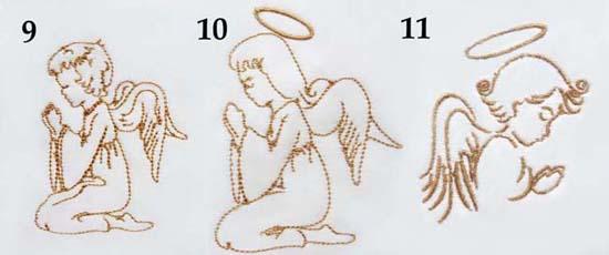 motywy graficzne do chrztu na chrzest szydelkowakraina haft komputerowy maszynowy